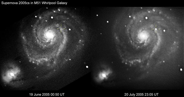 Whirlpool Galaxy - June 2005 - Solar Worlds