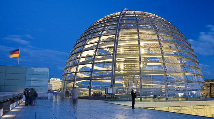 solar worlds photography reichstag dome